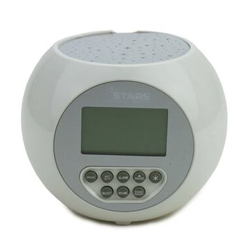 Star Projection Alarm Clock and Relaxation Sound Machine