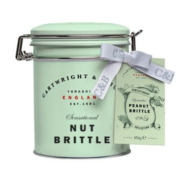 Cartwright And Butler Peanut Brittle In Tin