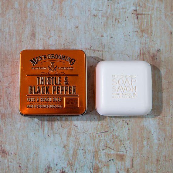 Men's Grooming Face & Beard Soap