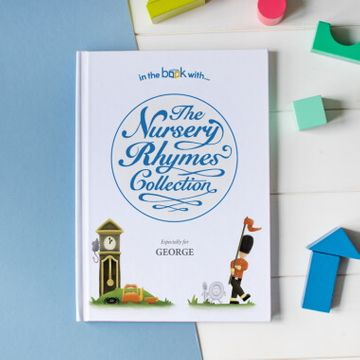 Personalised Nursery Rhyme Collection Book