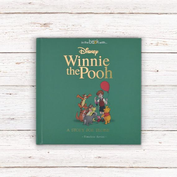 Personalised Disney Winnie the Pooh Story Book