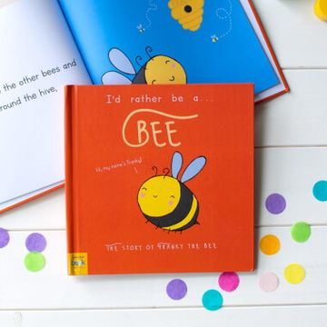 Personalised I'd Rather Be a Bee Book