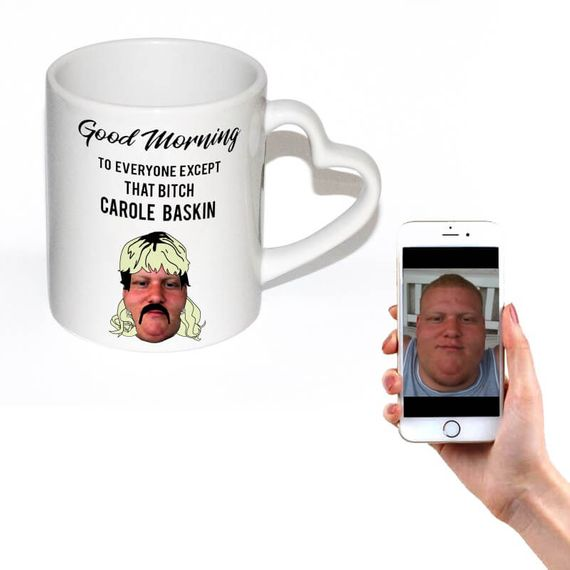Personalised Joe Exotic Face Mug