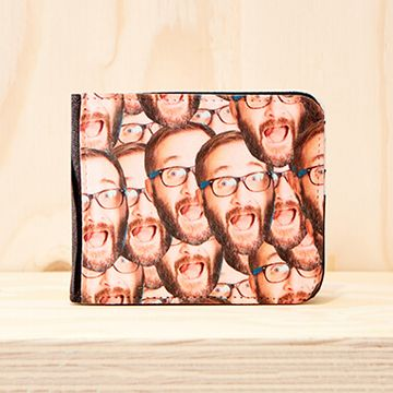 Personalised Multi Face Photo Wallet
