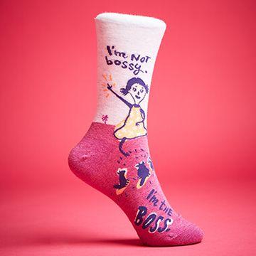I'm Not Bossy I'm The Boss Women's Socks