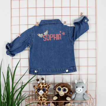 Personalised Sunnies Denim Jacket