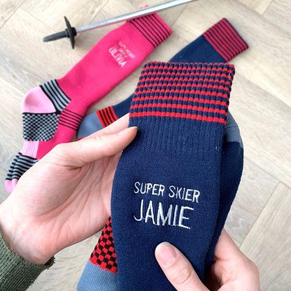 Personalised Ski Socks