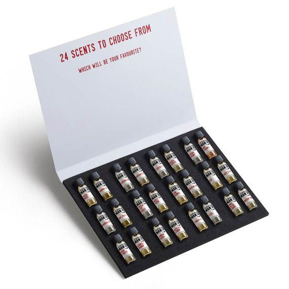 24 Beard Oil Sampler set