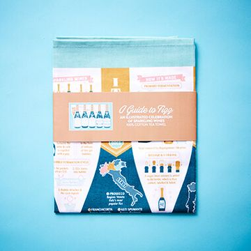 A Guide to Fizz Tea Towel