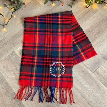 Personalised Women's Tartan Scarf