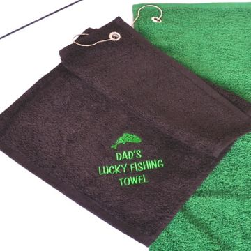 Personalised Fishing Towel