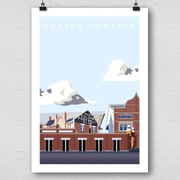 Championship Current Grounds Football Print