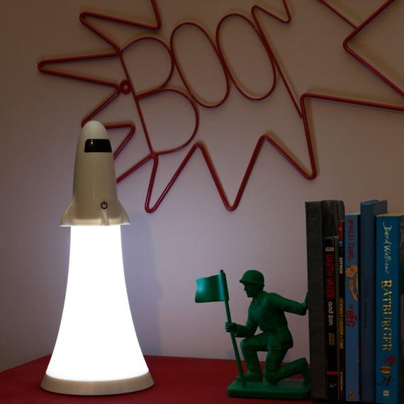 2 In 1 Rocket Lamp