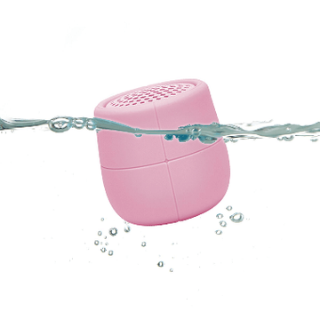 Lexon MINO X Water-resistant Bluetooth Speaker - Soft Pink