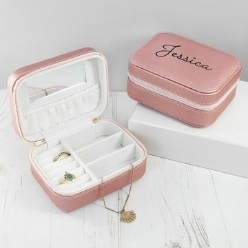 Personalised Travel Jewellery Case