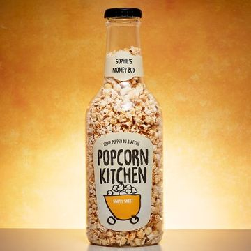 Popcorn Kitchen Giant Money Box Bottle