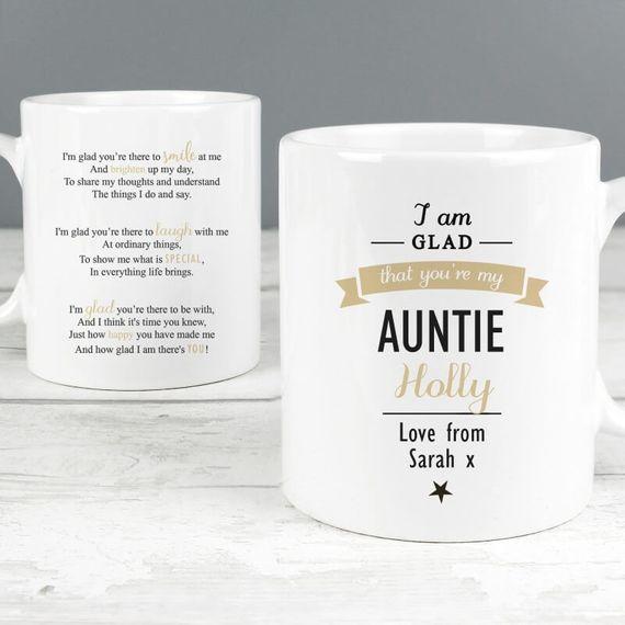 Personalised 'I Am Glad...' Mug