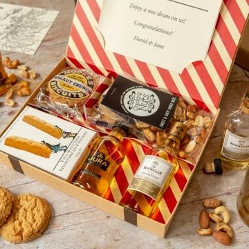 Personalised Whisky Lovers Letter Box Hamper