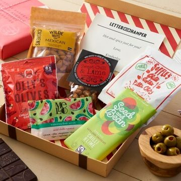 Personalised Chilli Lovers Letter Box Hamper