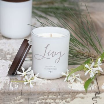 Personalised Name Soy Candle