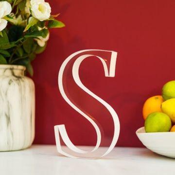 Transparent Acrylic Letters