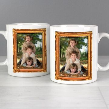Personalised Frame Photo Mug