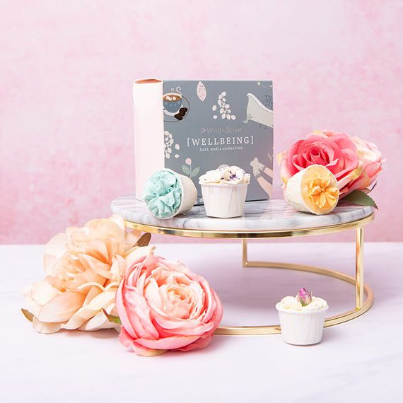 Handmade Wellbeing Bath Melts Collection