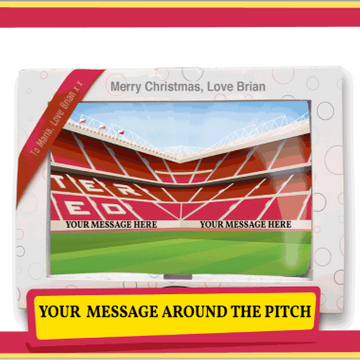 Personalised Football Stadium Jumbo Marshmallow