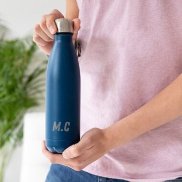 Personalised Initial Colour Flask