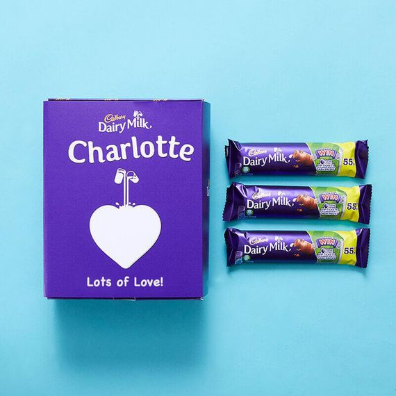 Personalised Favourites Box - Dairy Milk