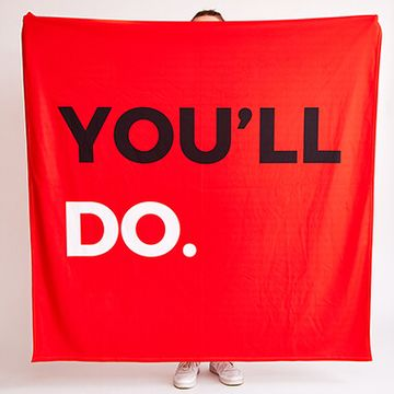 Personalised You'll Do Fleece Throw