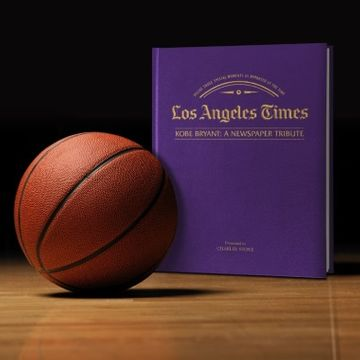 Personalised LA Times Newspaper Book: A Kobe Bryant Tribute