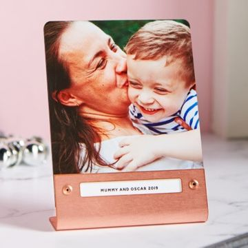 Personalised Metal Photo Print - Copper