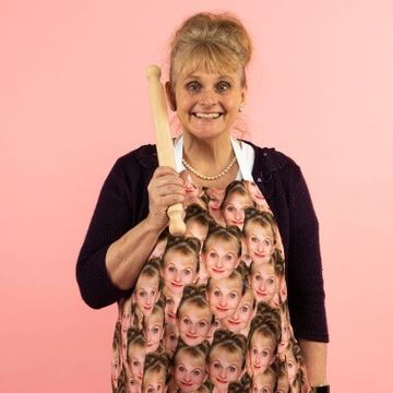 Personalised Photo Face Apron