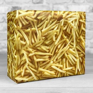French Fries Gift Wrap