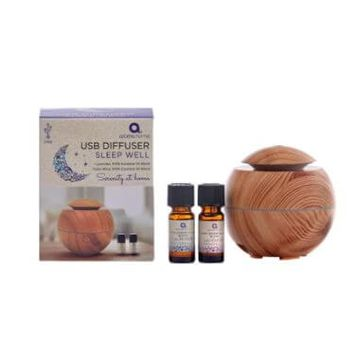 Wood Diffuser With Lavender And Sleep Essential Oils