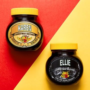 Personalised Christmas Marmite with Gift Box - Nice
