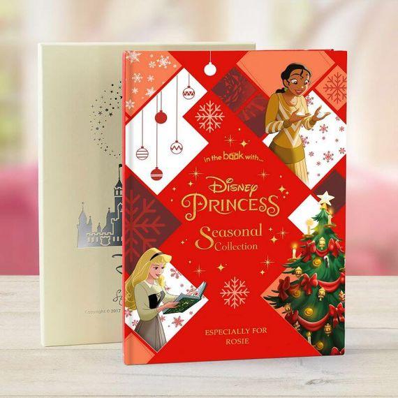 Personalised Disney Princess Seasonal Collection Book