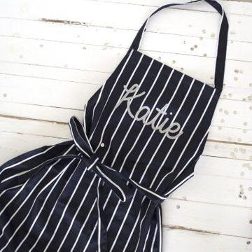 Personalised Glitter Name Apron