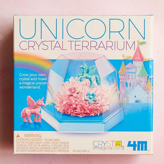 Unicorn Crystal Terrarium