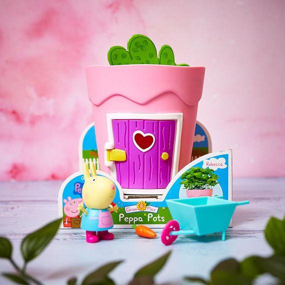 Peppa Pig Growing Pots - Rebecca Rabbit