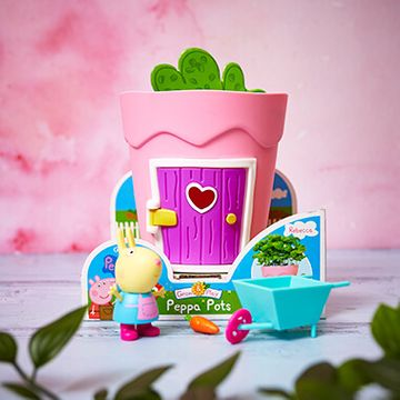 Peppa Pig Growing Pots - Rebecca Rabbit