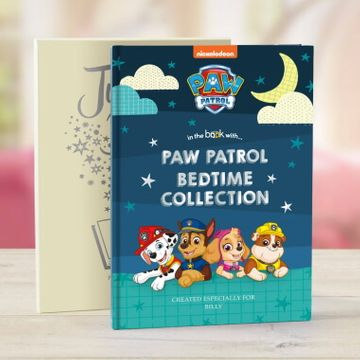 Personalised Paw Patrol Bedtime Story Book