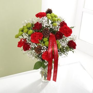 Personalised Happy Christmas Bouquet