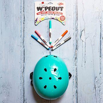Wipeout Helmet Age 5 + - Teal
