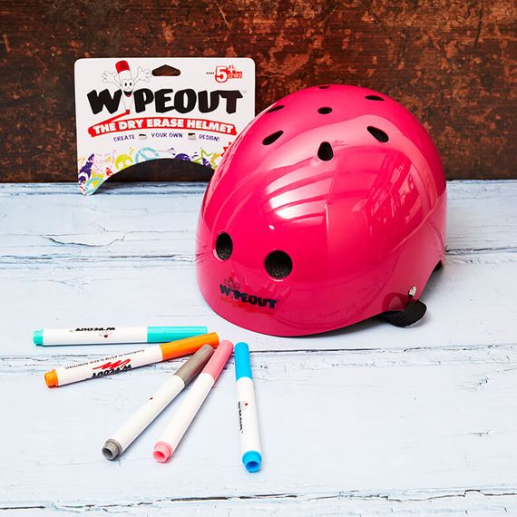 Wipeout Helmet Age 8 + - Pink