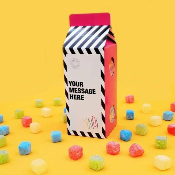 Personalised Milk Shaker Sweet Box