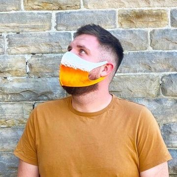 Personalised Beard Collection Face Masks