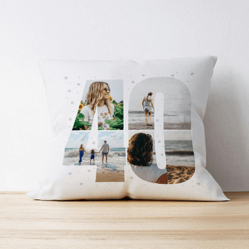 Personalised 40 Photo Cushion - Multi Image