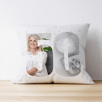 Personalised 50 Photo Cushion - Multi Image